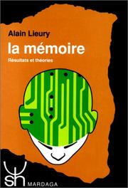 Cover of: La mémoire