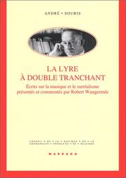 Cover of: La lyre à double tranchant