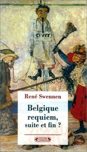 Cover of: Belgique requiem, suite et fin?