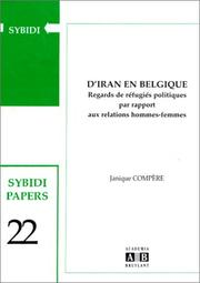 Cover of: D'Iran en Belgique