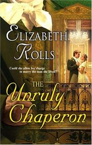 Cover of: The Unruly Chaperon