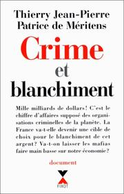 Cover of: Crime et blanchiment