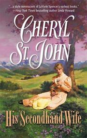 Cover of: His secondhand wife | Cheryl St. John