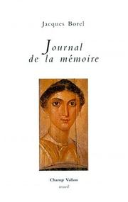 Cover of: Journal de la mémoire
