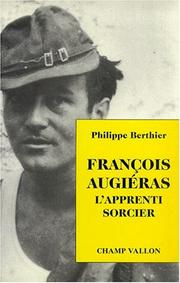 Cover of: François Augiéras