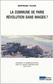 Cover of: La Commune de Paris, révolution sans images?