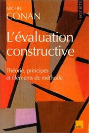 Cover of: L' évaluation constructive