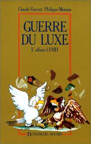 Cover of: Guerre du luxe