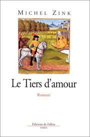 Cover of: Le tiers d'amour