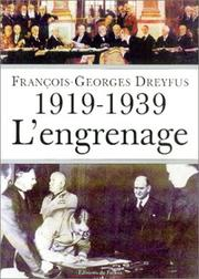 Cover of: L' engrenage, 1919-1939