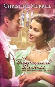 Cover of: The Inconvenient Duchess
