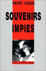 Cover of: Souvenirs impies