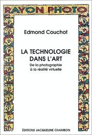 Cover of: La technologie dans l'art