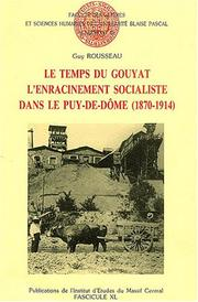 Cover of: Le temps du gouyat