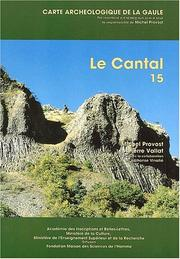 Cover of: Le Cantal