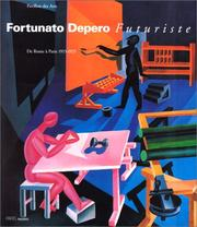 Cover of: Fortunato Depero, futuriste