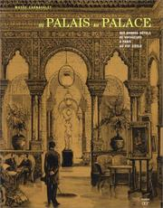 Cover of: Du Palais Au Palace