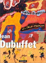 Cover of: Jean Dubuffet