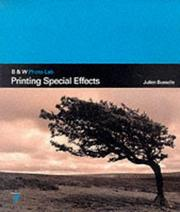Cover of: Printing Special Effects (B & W Photo-lab)