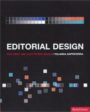Cover of: Editorial Design | Yolanda Zappaterra