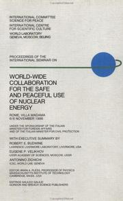 Cover of: World Wide Collaboration for Safe and Peaceful Use of Nuclear Energy (Worldwide Problems on Nuclear Issues, Vol 1) | I. A. Pless