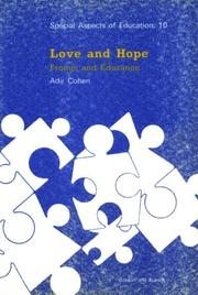 Cover of: Love and hope