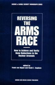 Cover of: Reversing the arms race |