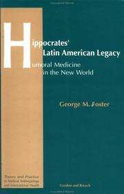 Cover of: Hippocrates' Latin American legacy
