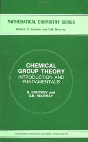 Cover of: Chemical Group Theory | Dennis H. Rouvray