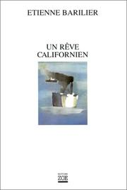 Cover of: Un rêve californien
