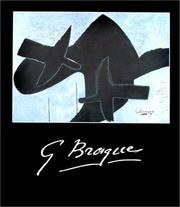 Cover of: G. Braque