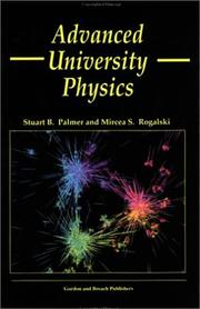 Cover of: Advanced university physics