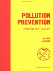 Cover of: Pollution prevention