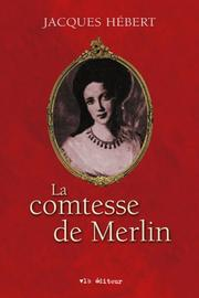 Cover of: La comtesse de Merlin