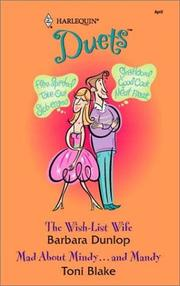Cover of: The Wish-List Wife / Mad about Mindy... and Mandy