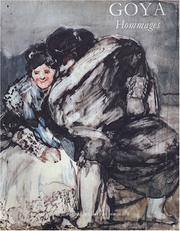 Cover of: Goya, hommages