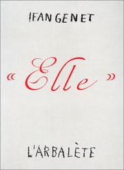 "Cover of: ""Elle"""