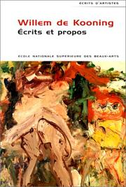 Cover of: Ecrits et propos