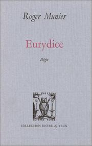 Cover of: Eurydice
