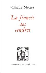 Cover of: La fiancée des cendres