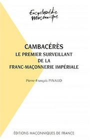 Cover of: Cambacérès