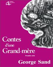 Cover of: Contes d'une grand'mère