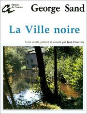 Cover of: La ville noire