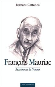 Cover of: François Mauriac