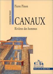 Cover of: Canaux