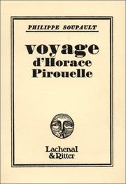 Cover of: Voyage d'Horace Pirouelle