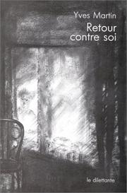Cover of: Retour contre soi