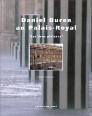 Cover of: Daniel Buren au Palais-Royal