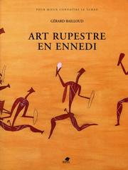 Cover of: Art rupestre en Ennedi =
