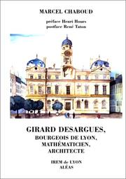 Cover of: Girard Desargues